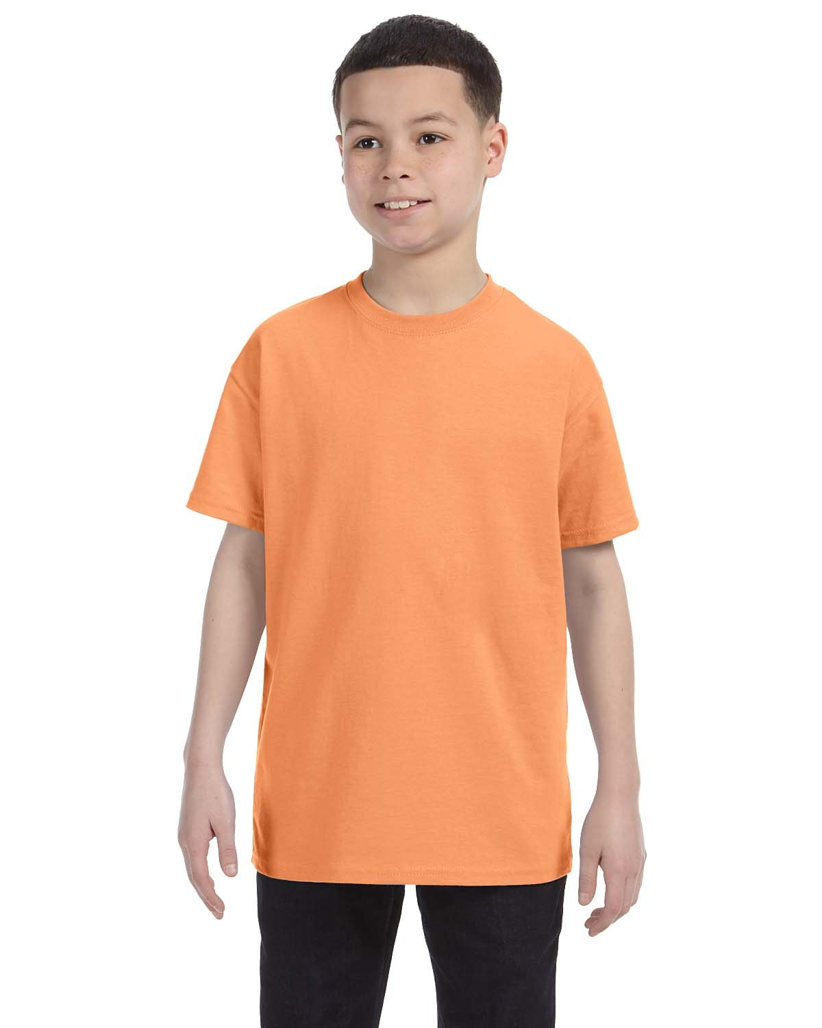 Gildan Youth  Heavy Cotton™ 5.3 oz. T-Shirt OLD GOLD
