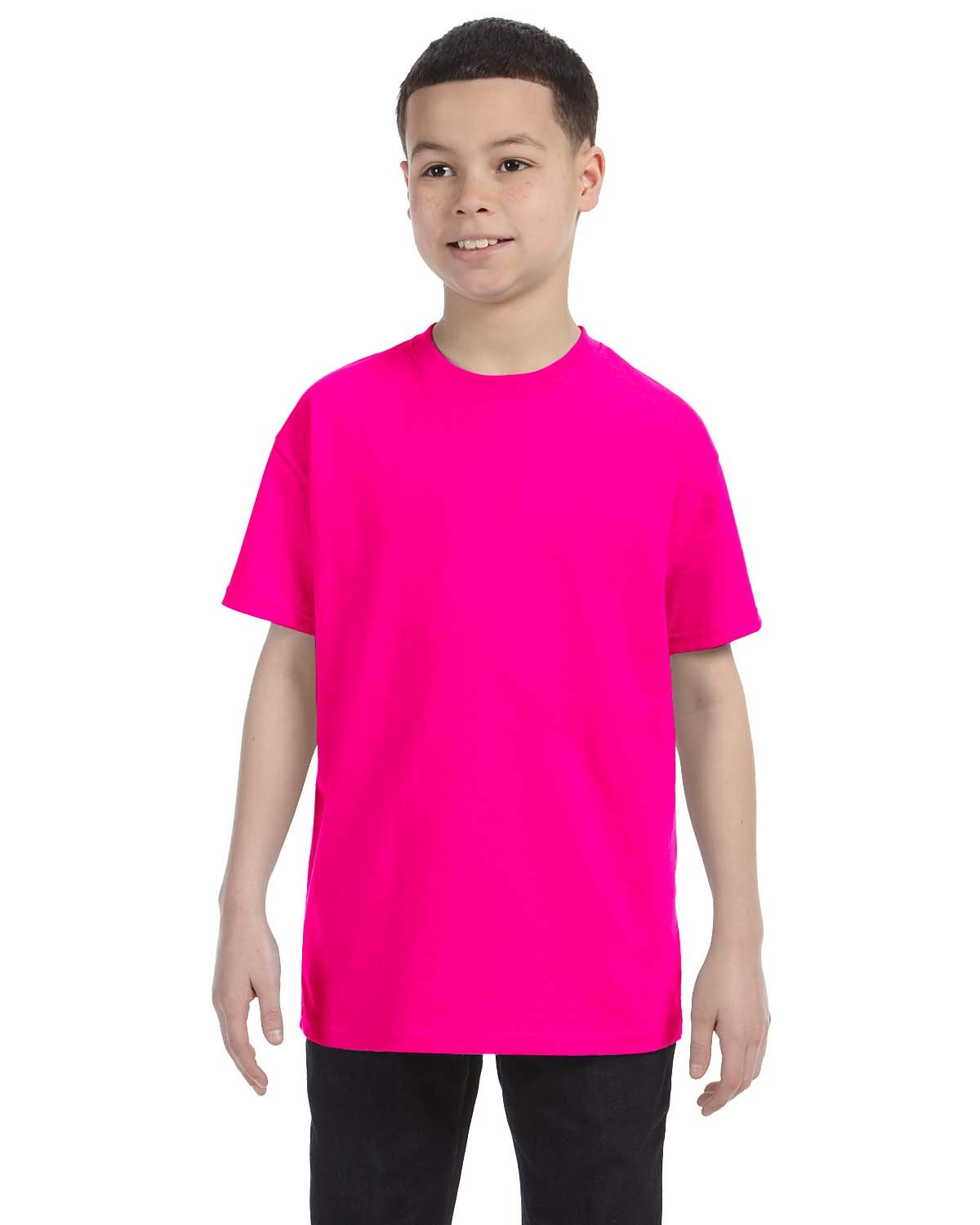Gildan Youth  Heavy Cotton™ 5.3 oz. T-Shirt HELICONIA