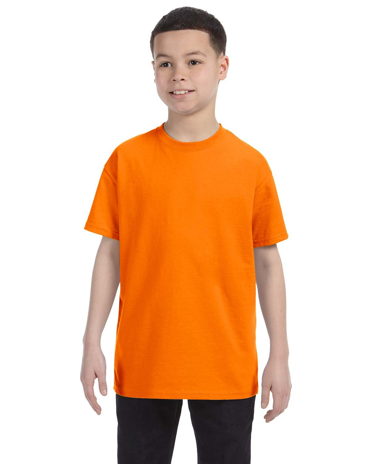 Gildan Youth  Heavy Cotton™ 5.3 oz. T-Shirt TENNESSEE ORANGE