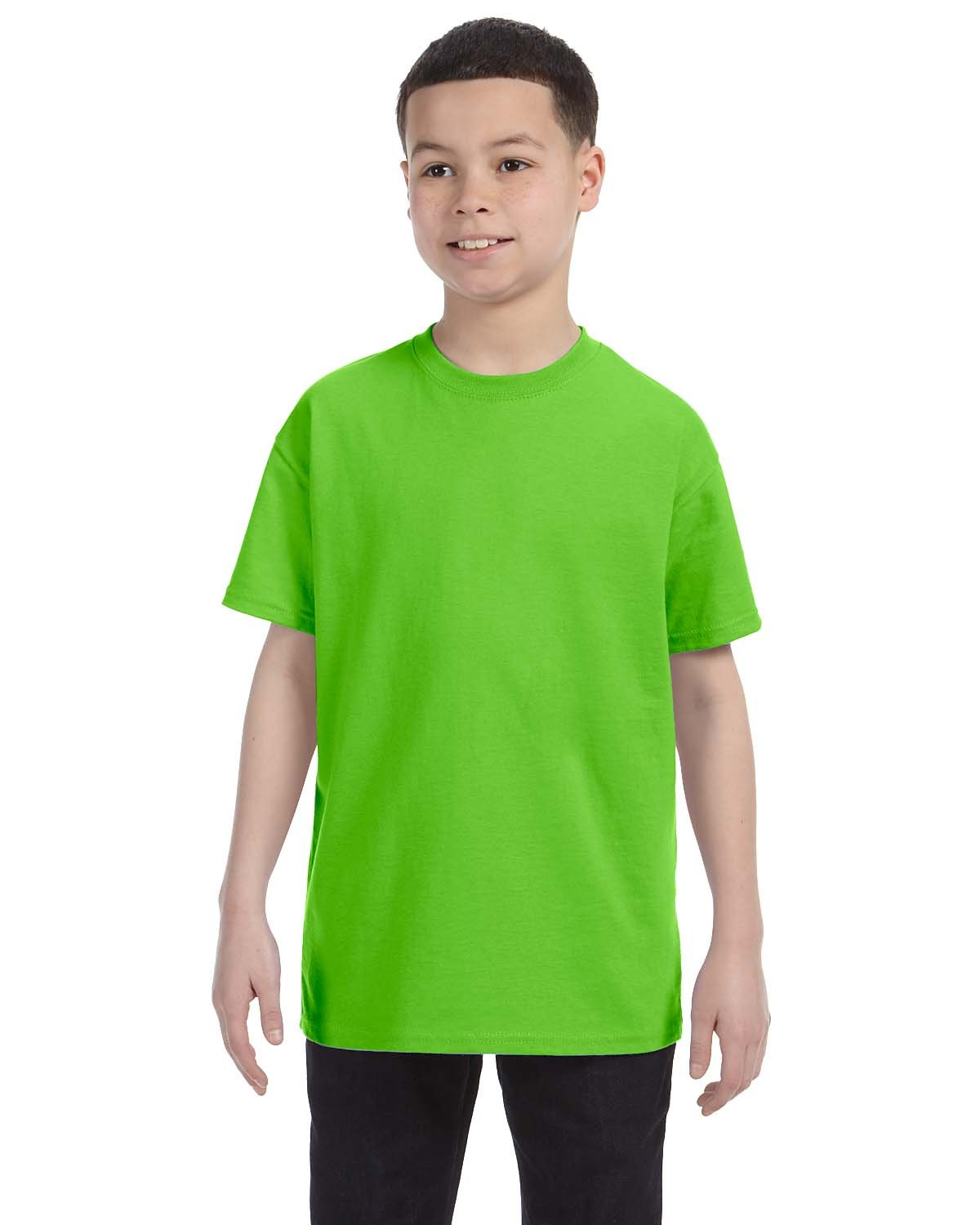 Gildan Youth  Heavy Cotton™ 5.3 oz. T-Shirt LIME
