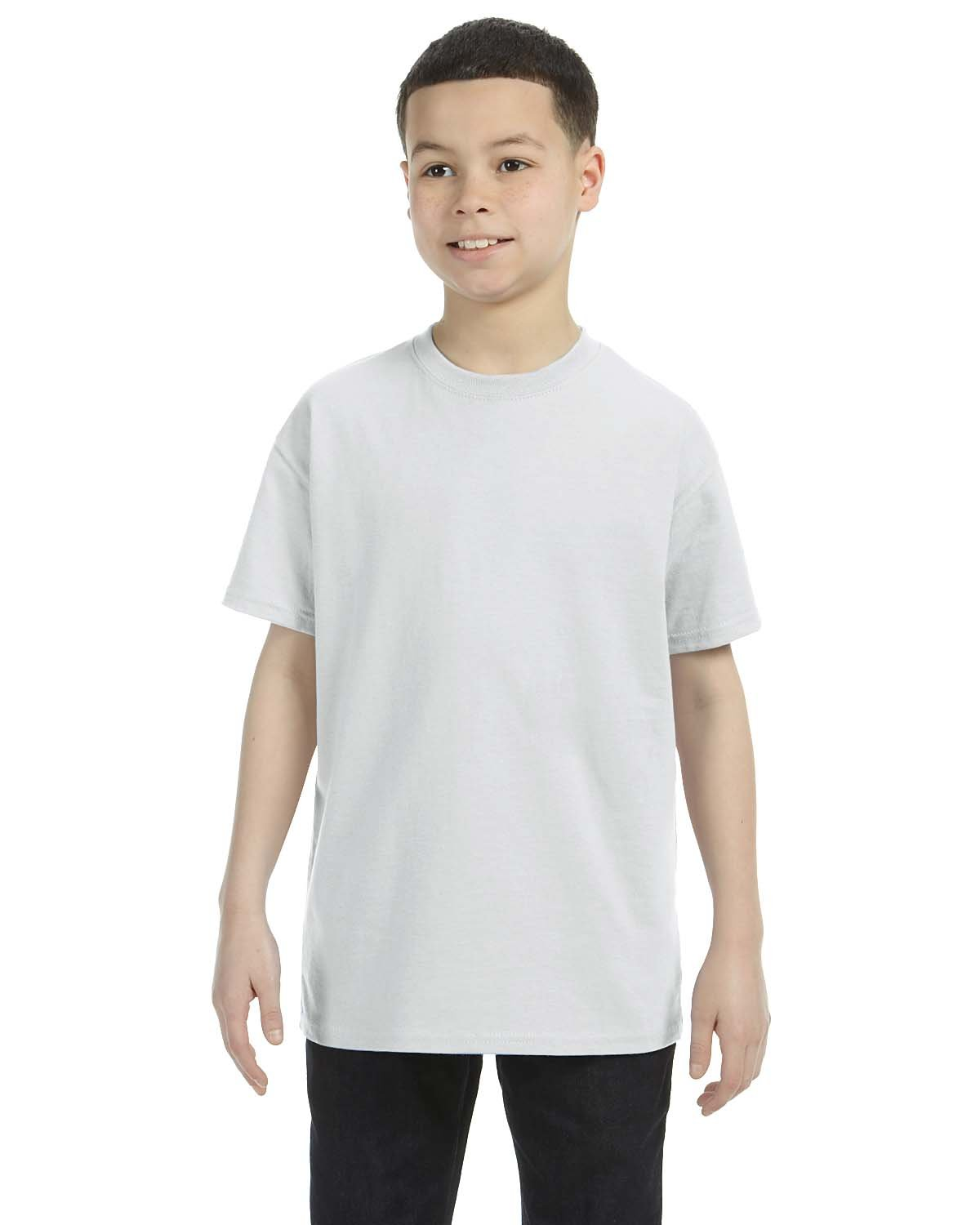 Gildan Youth  Heavy Cotton™ 5.3 oz. T-Shirt ASH GREY