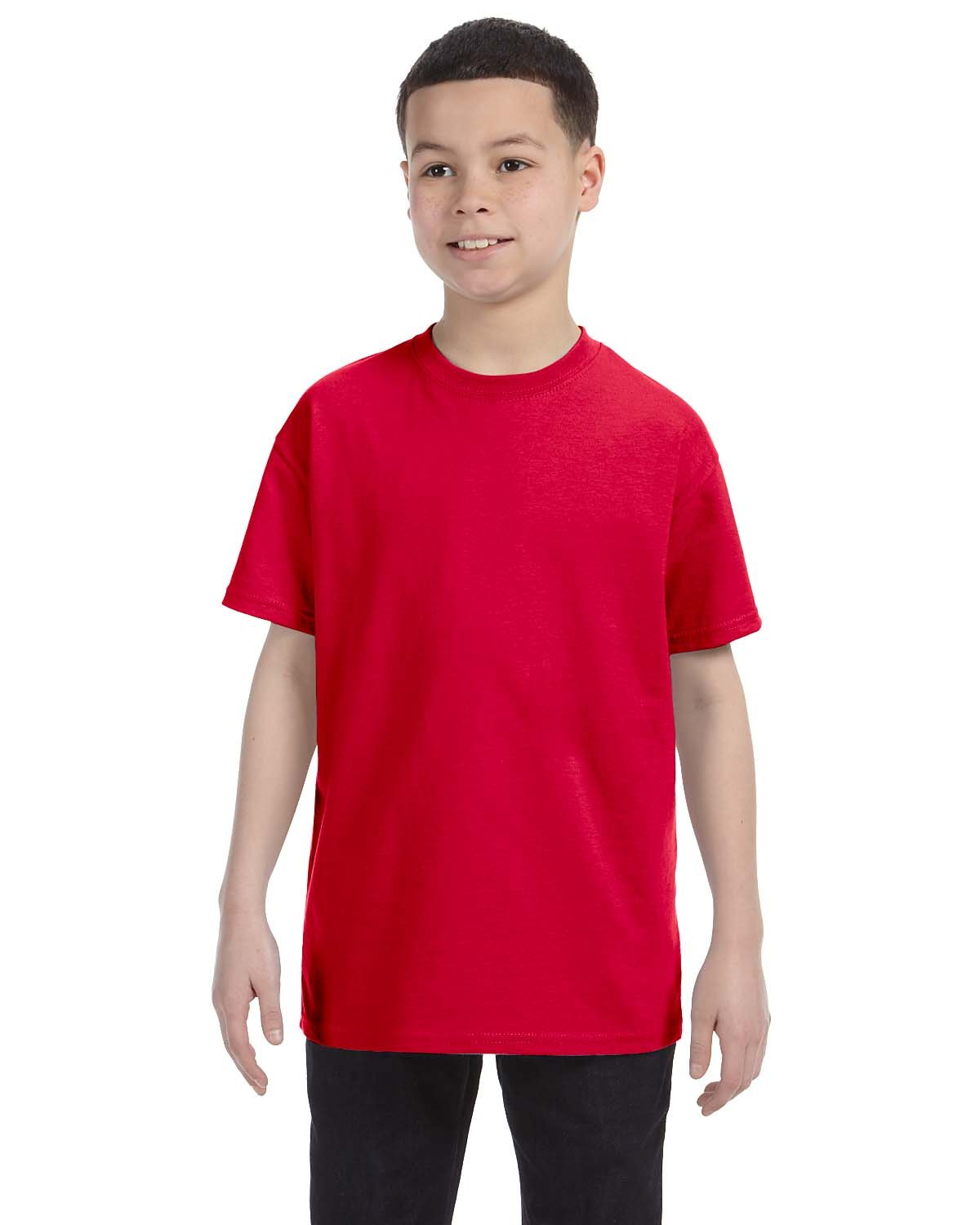 Gildan Youth  Heavy Cotton™ 5.3 oz. T-Shirt RED