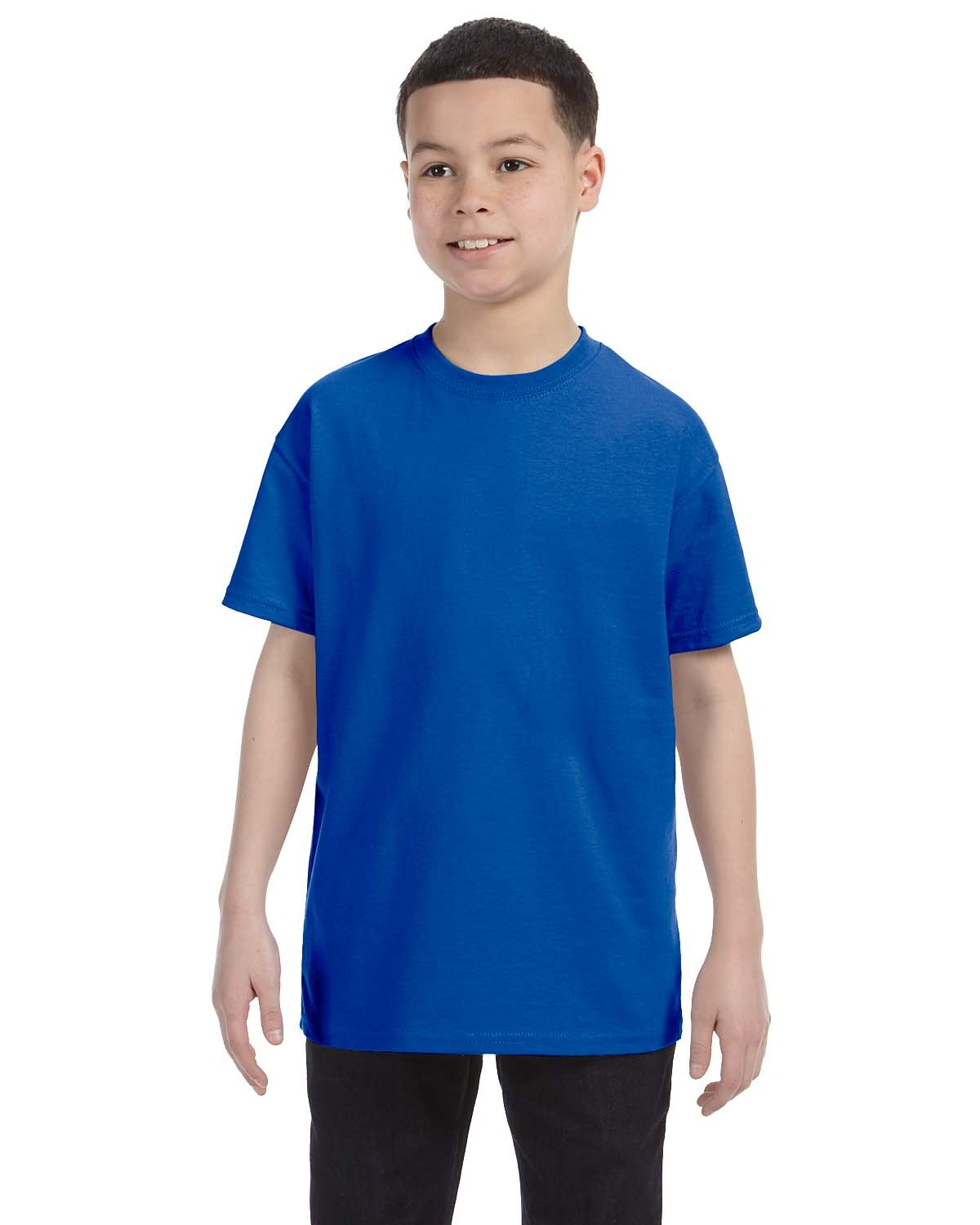 Gildan Youth  Heavy Cotton™ 5.3 oz. T-Shirt ROYAL