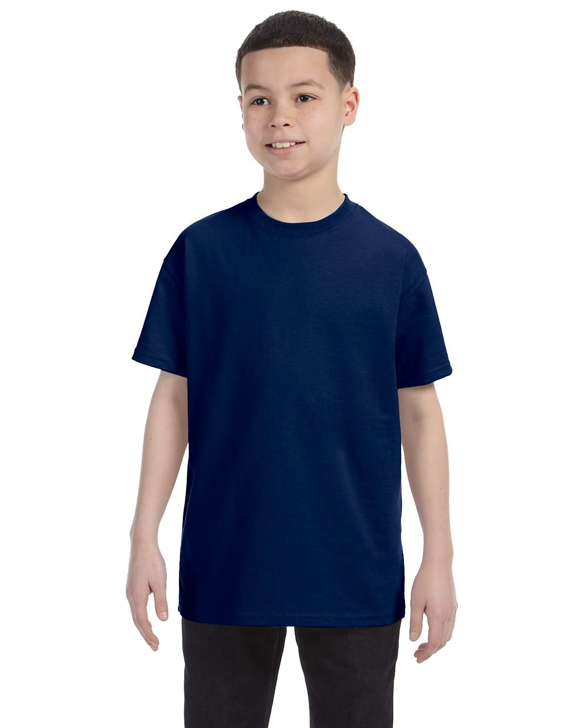 Gildan Youth  Heavy Cotton™ 5.3 oz. T-Shirt NAVY