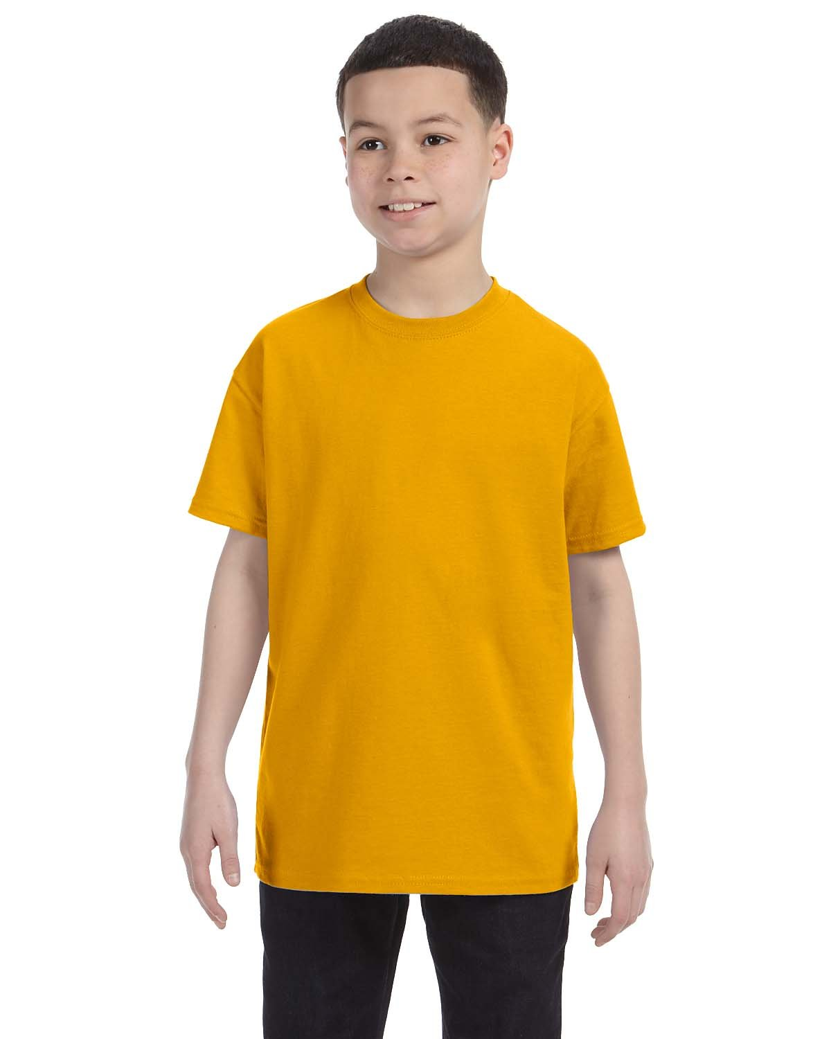 Gildan Youth  Heavy Cotton™ 5.3 oz. T-Shirt GOLD