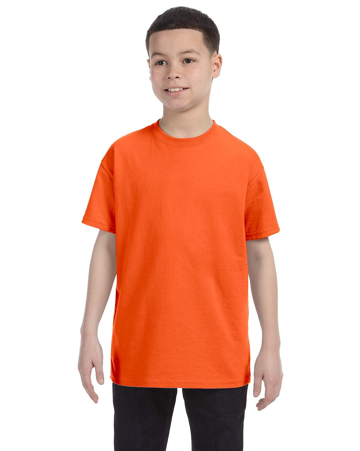 Gildan Youth  Heavy Cotton™ 5.3 oz. T-Shirt ORANGE