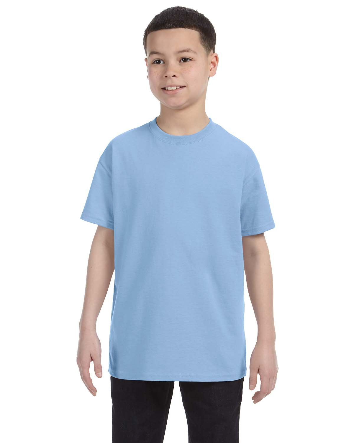 Gildan Youth  Heavy Cotton™ 5.3 oz. T-Shirt LIGHT BLUE