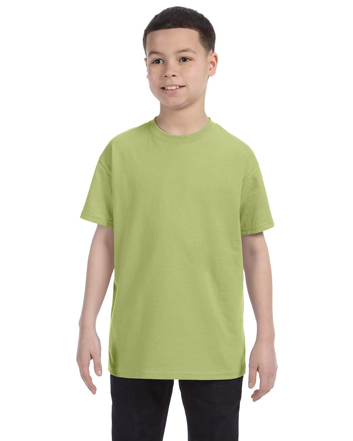 Gildan Youth  Heavy Cotton™ 5.3 oz. T-Shirt KIWI