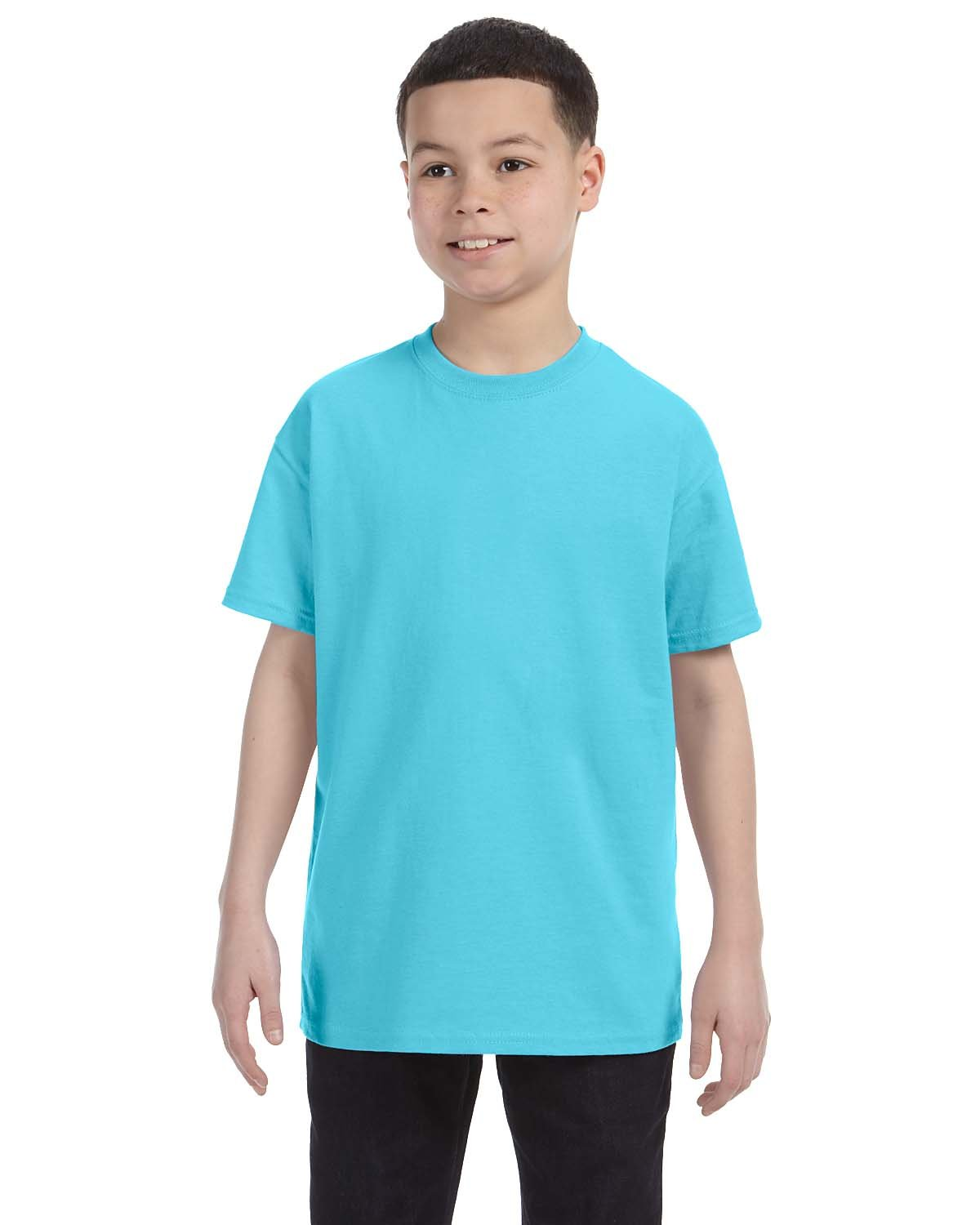 Gildan Youth  Heavy Cotton™ 5.3 oz. T-Shirt SKY