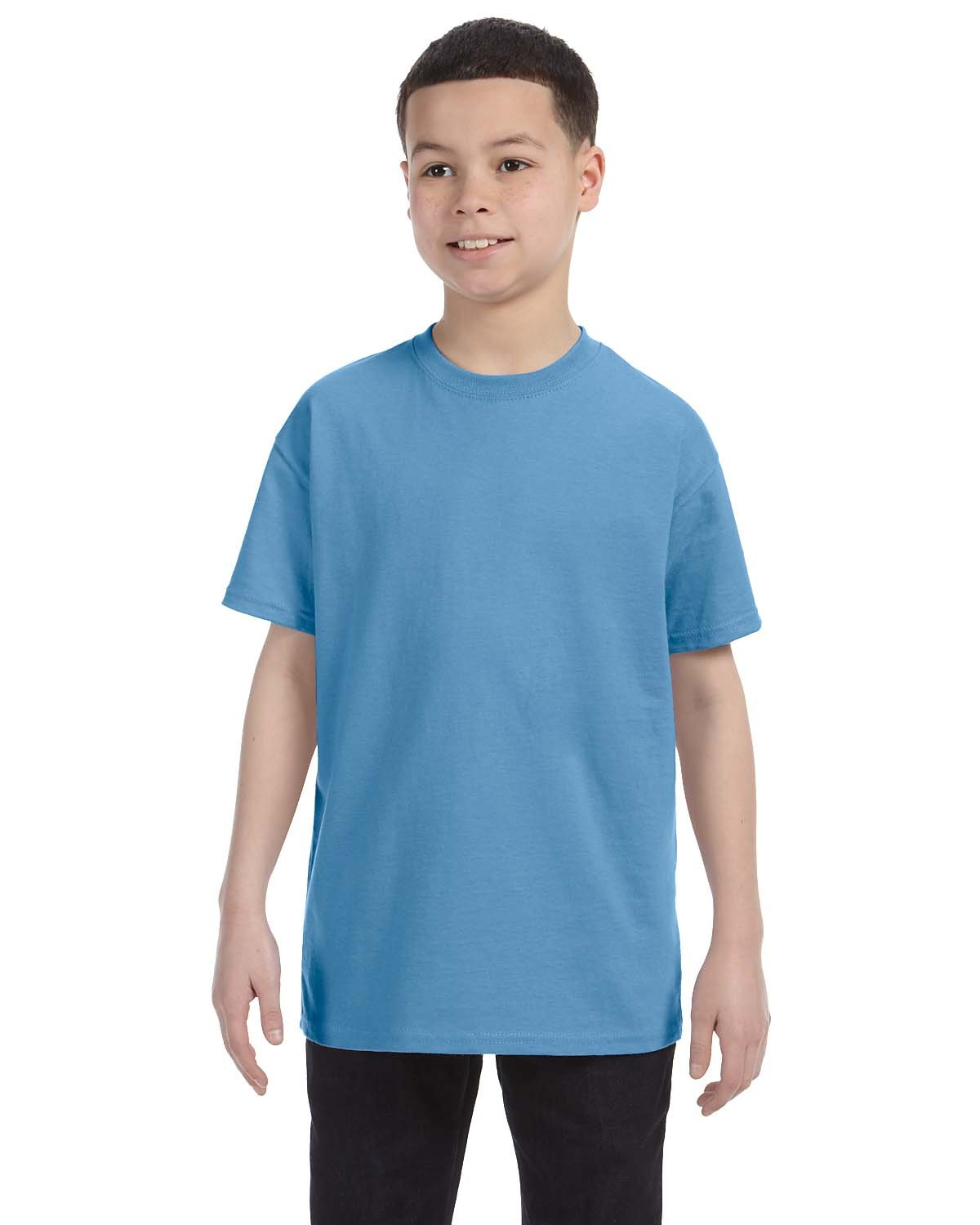 Gildan Youth  Heavy Cotton™ 5.3 oz. T-Shirt CAROLINA BLUE