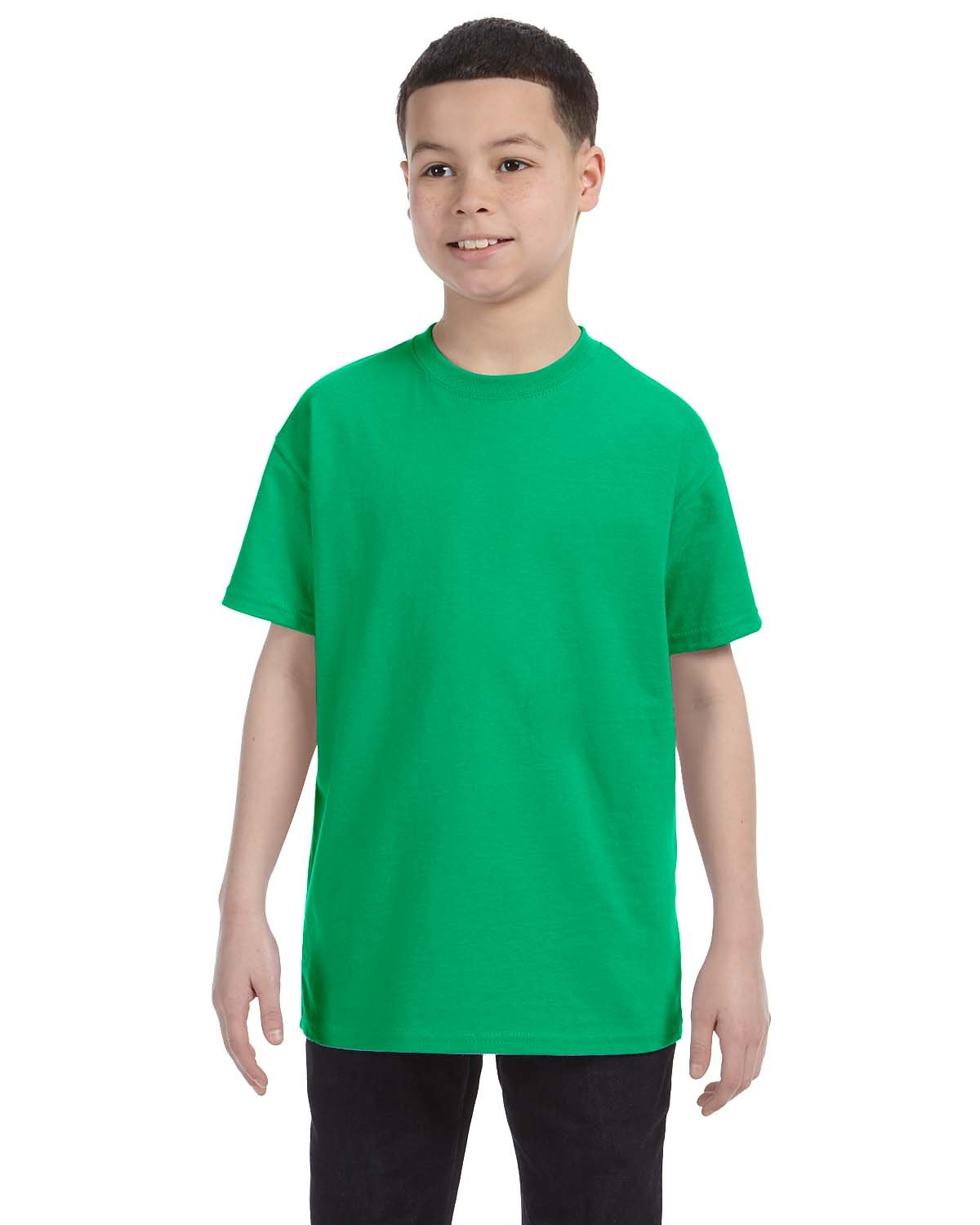 Gildan Youth  Heavy Cotton™ 5.3 oz. T-Shirt IRISH GREEN