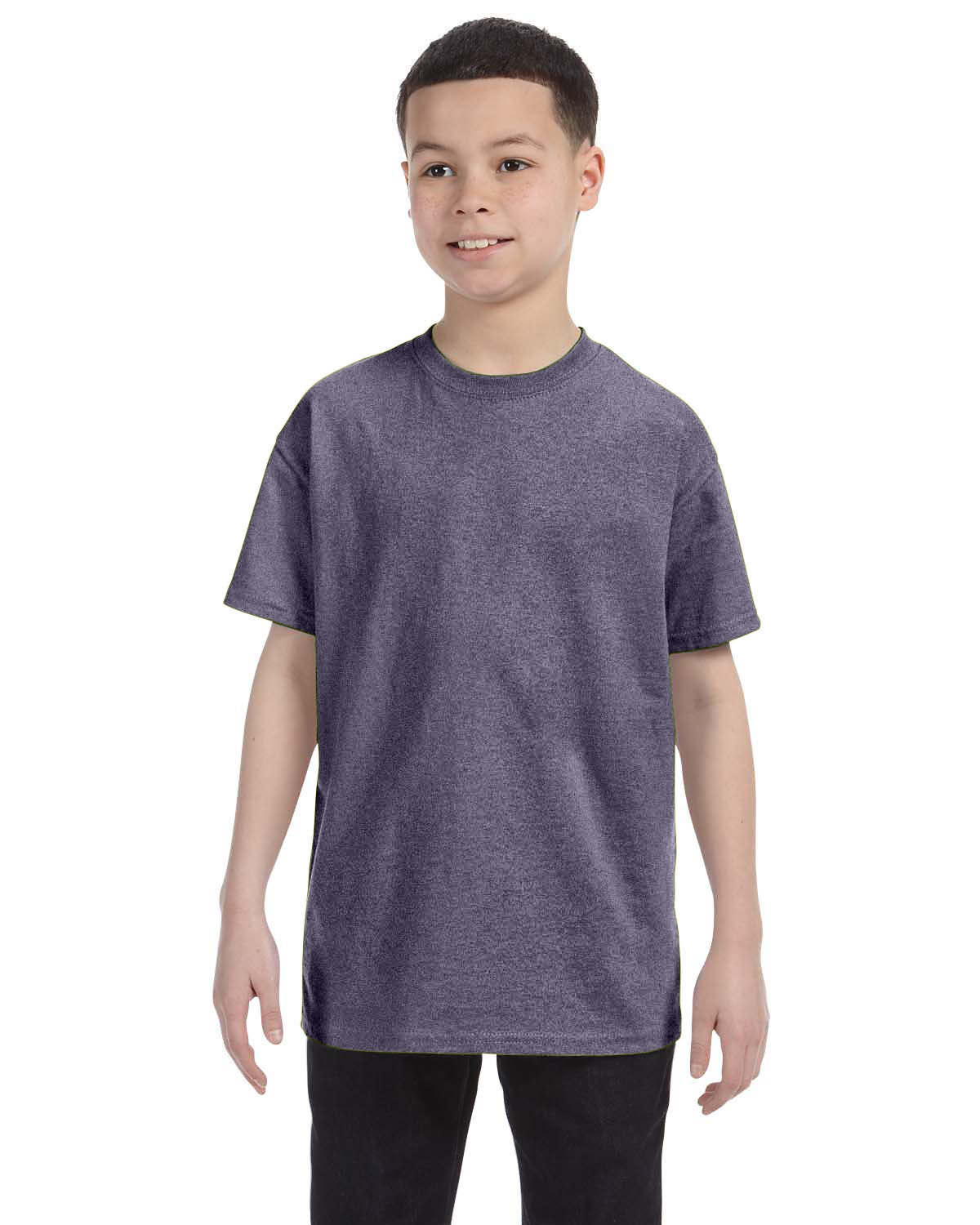 Gildan Youth  Heavy Cotton™ 5.3 oz. T-Shirt GRAPHITE HEATHER