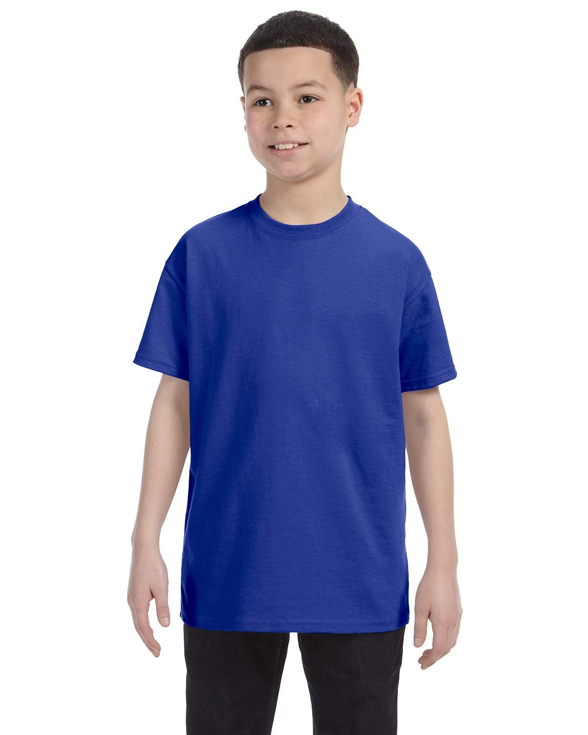Gildan Youth  Heavy Cotton™ 5.3 oz. T-Shirt COBALT