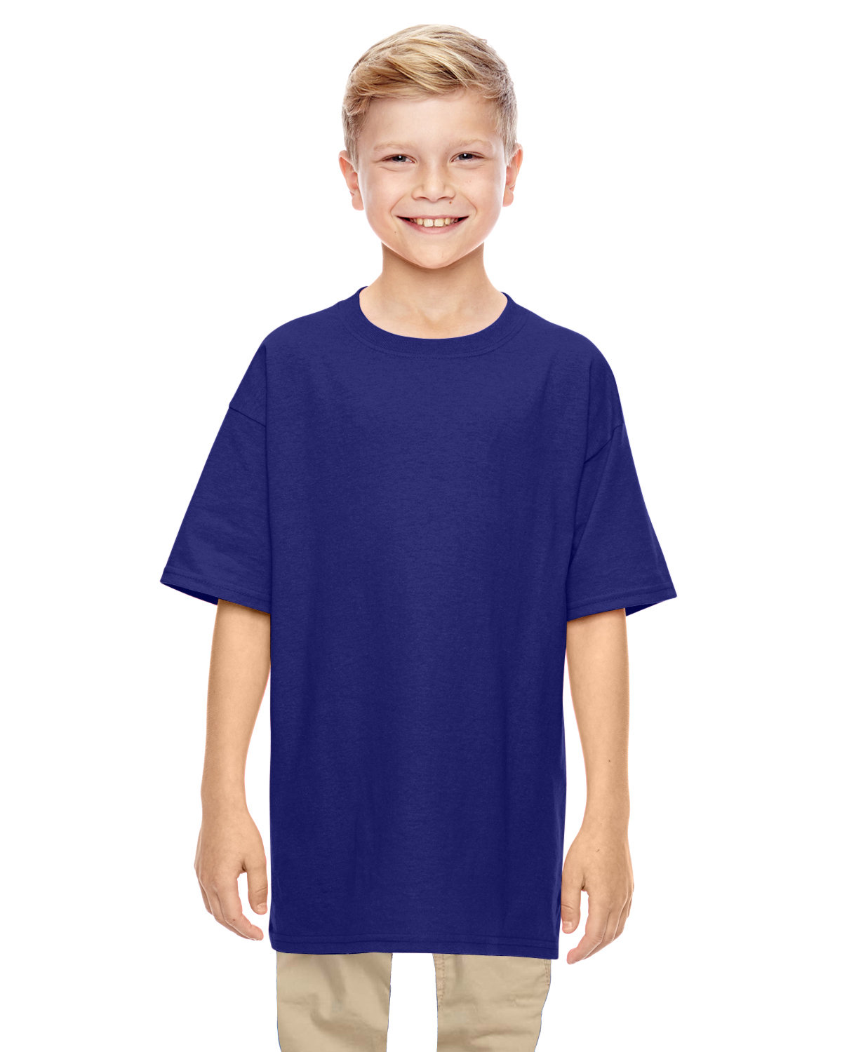 Gildan Youth  Heavy Cotton™ 5.3 oz. T-Shirt NEON BLUE