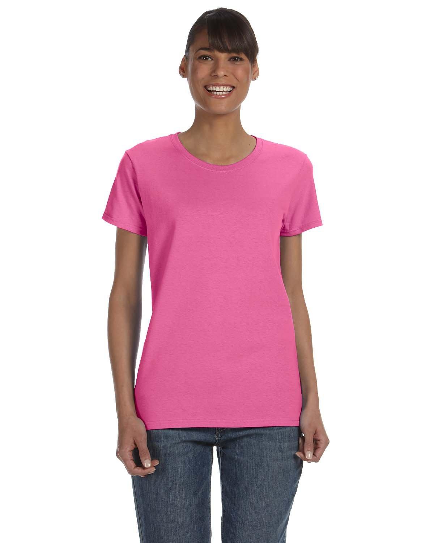 Gildan Ladies' Heavy Cotton™ T-Shirt AZALEA