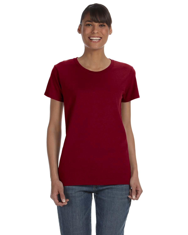 Gildan Ladies' Heavy Cotton™ T-Shirt GARNET
