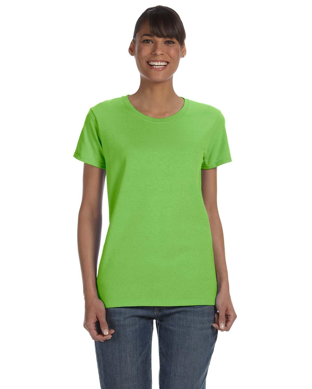 Gildan Ladies' Heavy Cotton™ T-Shirt LIME