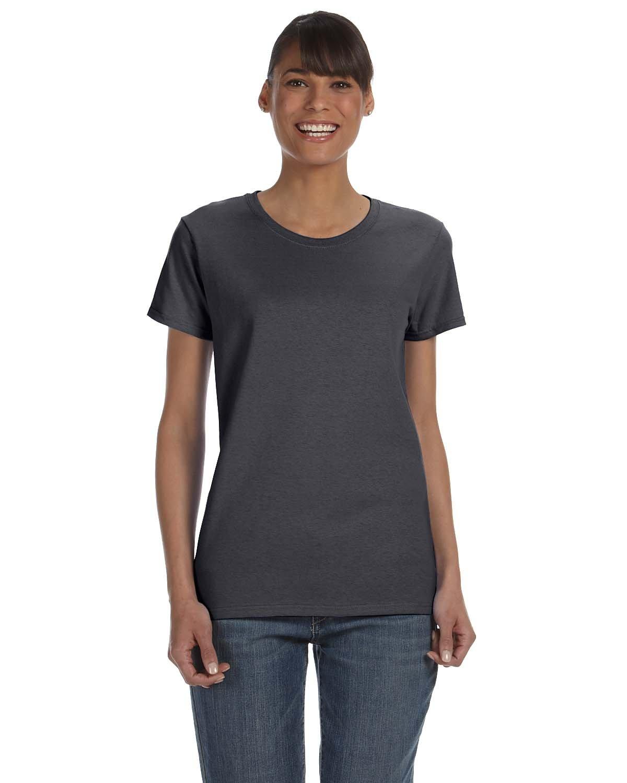 Gildan Ladies' Heavy Cotton™ T-Shirt CHARCOAL
