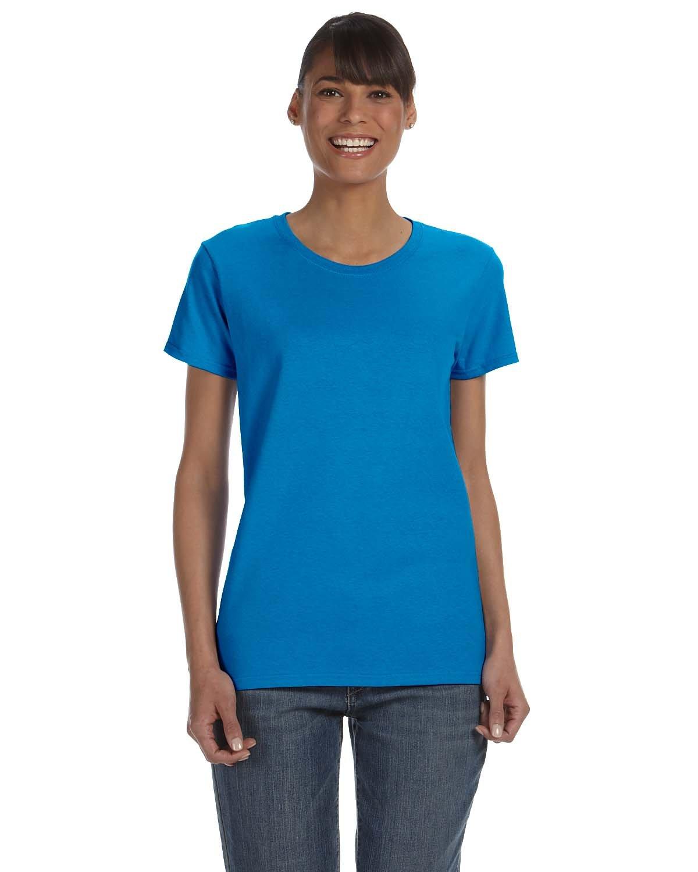 Gildan Ladies' Heavy Cotton™ T-Shirt SAPPHIRE