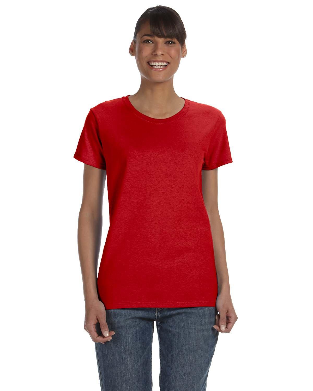 Gildan Ladies' Heavy Cotton™ T-Shirt RED