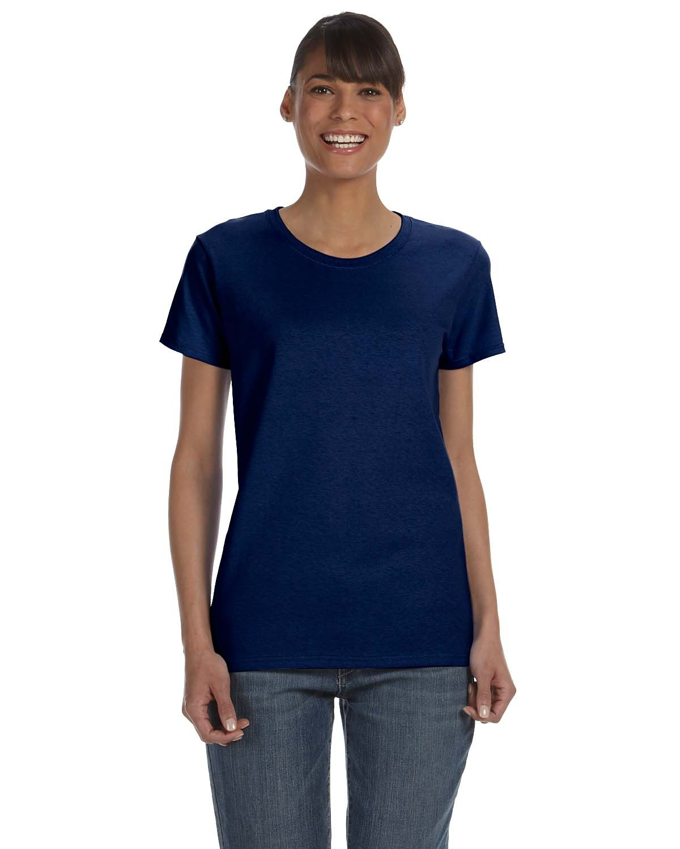Gildan Ladies' Heavy Cotton™ T-Shirt NAVY