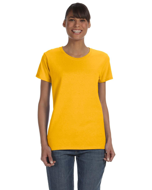 Gildan Ladies' Heavy Cotton™ T-Shirt GOLD