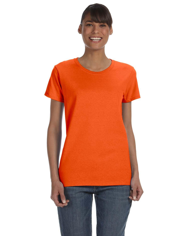 Gildan Ladies' Heavy Cotton™ T-Shirt ORANGE