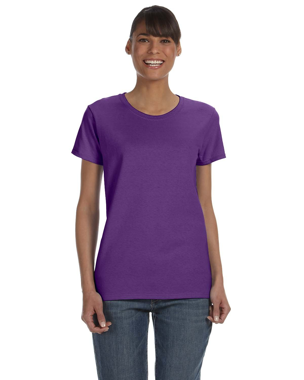 Gildan Ladies' Heavy Cotton™ T-Shirt PURPLE