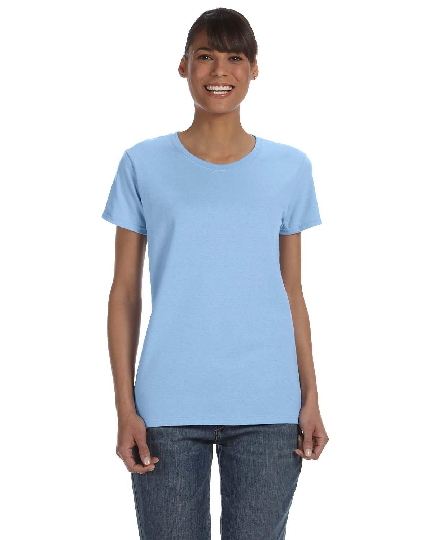 Gildan Ladies' Heavy Cotton™ T-Shirt LIGHT BLUE