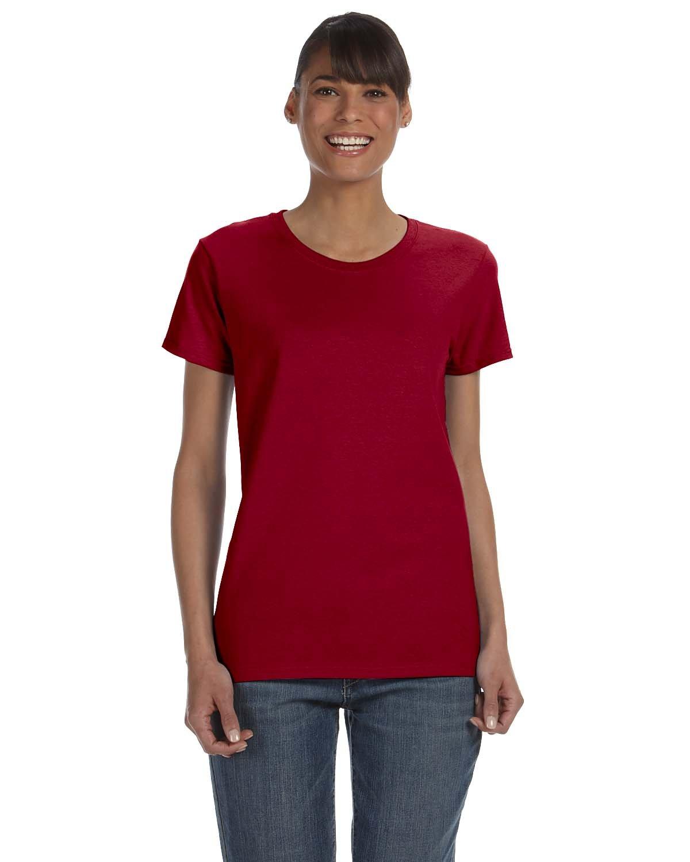 Gildan Ladies' Heavy Cotton™ T-Shirt CARDINAL RED