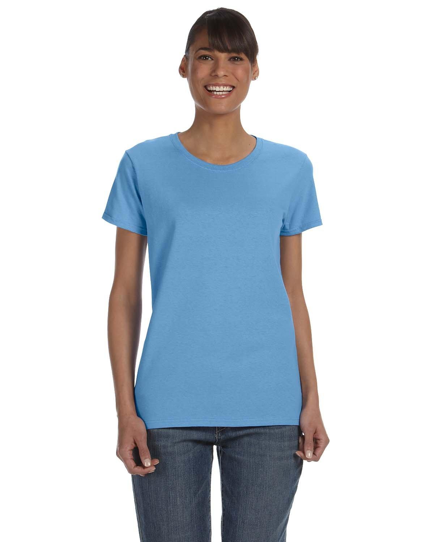 Gildan Ladies' Heavy Cotton™ T-Shirt CAROLINA BLUE