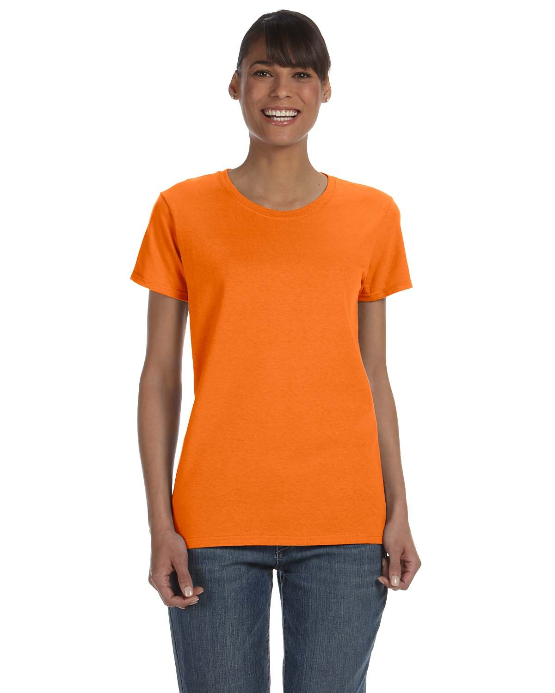 Gildan Ladies' Heavy Cotton™ T-Shirt S ORANGE