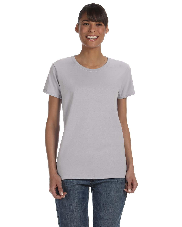 Gildan Ladies' Heavy Cotton™ T-Shirt SPORT GREY