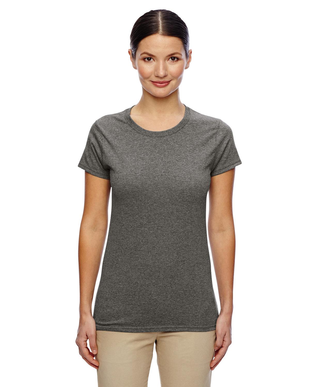 Gildan Ladies' Heavy Cotton™ T-Shirt GRAPHITE HEATHER