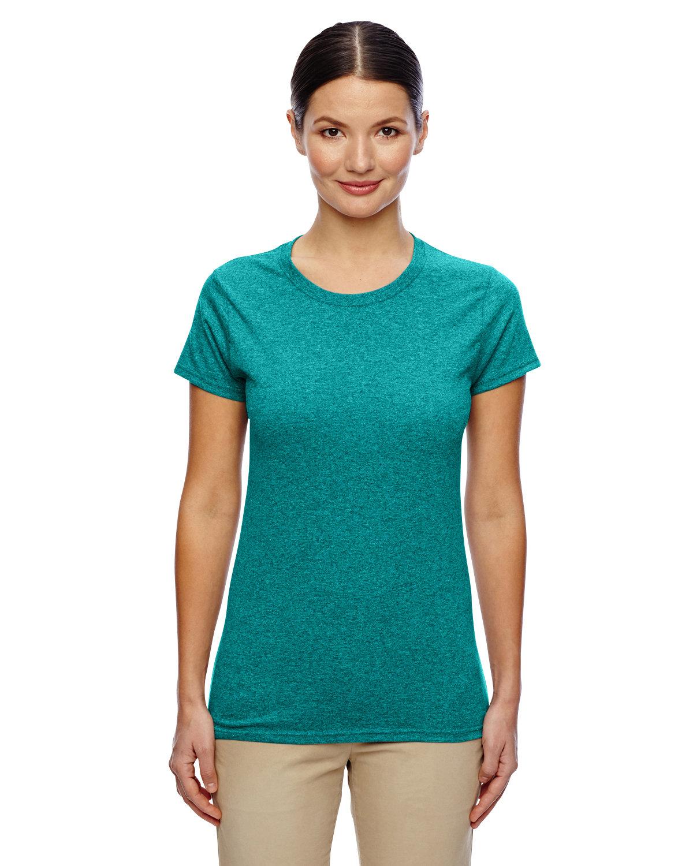Gildan Ladies' Heavy Cotton™ T-Shirt ANTIQ JADE DOME