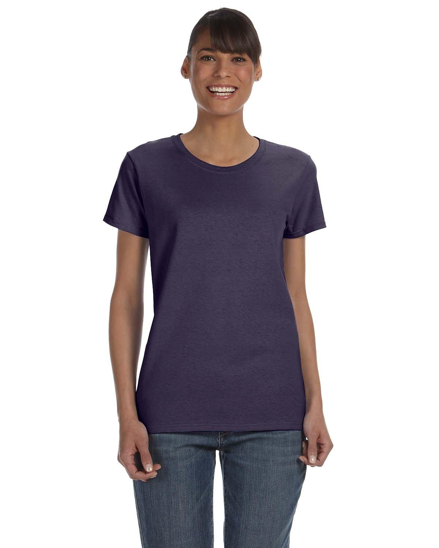 Gildan Ladies' Heavy Cotton™ T-Shirt BLACKBERRY
