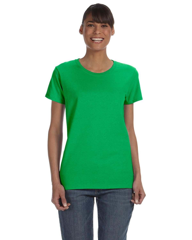 Gildan Ladies' Heavy Cotton™ T-Shirt ELECTRIC GREEN