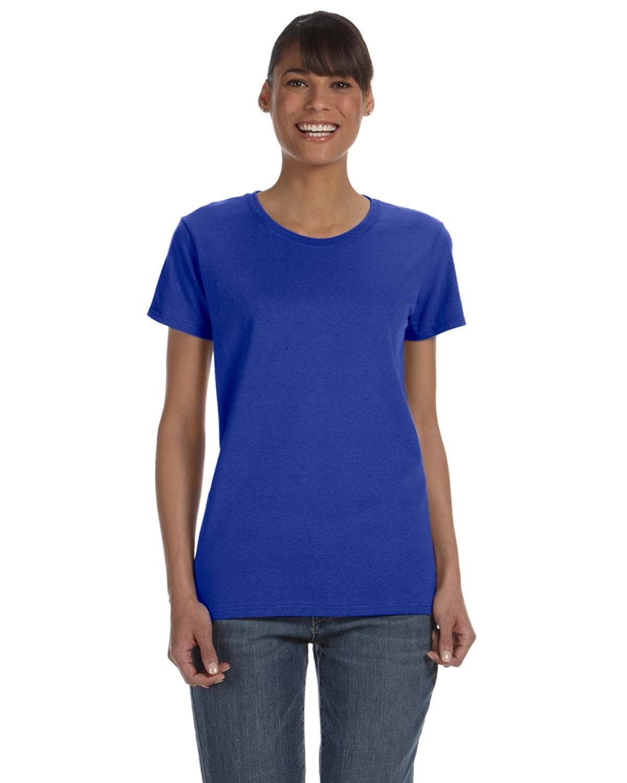 Gildan Ladies' Heavy Cotton™ T-Shirt COBALT