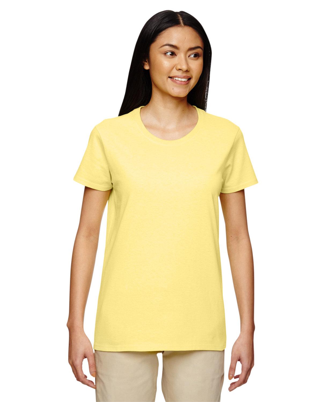 Gildan Ladies' Heavy Cotton™ T-Shirt CORNSILK