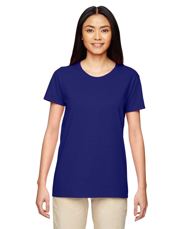 Gildan Ladies' Heavy Cotton™ T-Shirt NEON BLUE