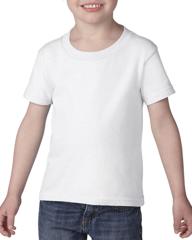 Gildan Toddler Heavy Cotton™ T-Shirt WHITE