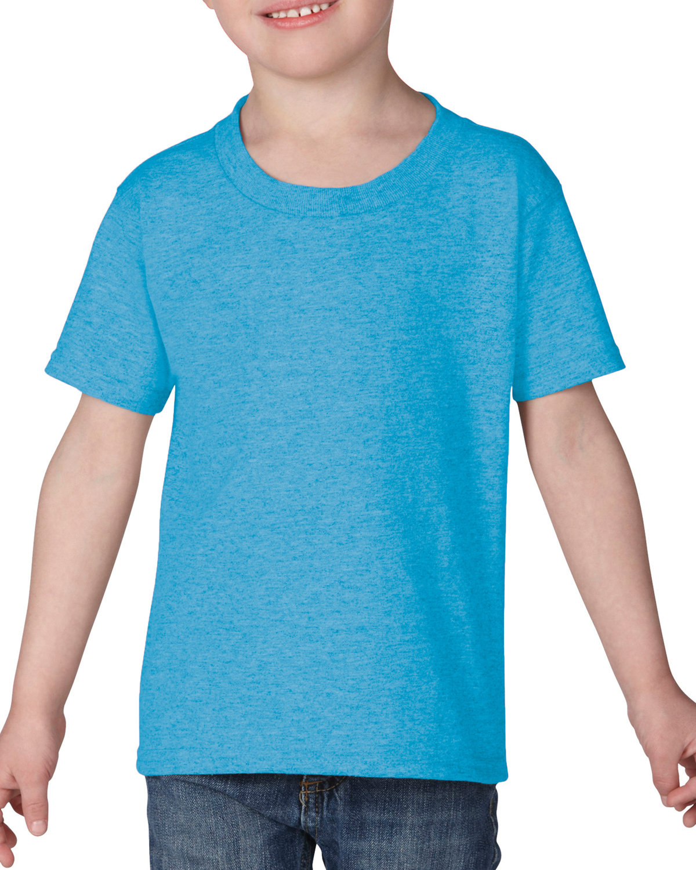 Gildan Toddler Heavy Cotton™ T-Shirt HEATHER SAPPHIRE
