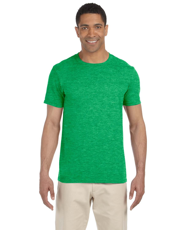 Gildan Adult Softstyle® T-Shirt HTHR IRISH GREEN