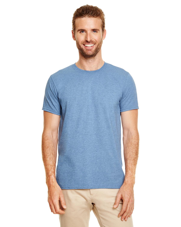 Gildan Adult Softstyle® T-Shirt HEATHER INDIGO