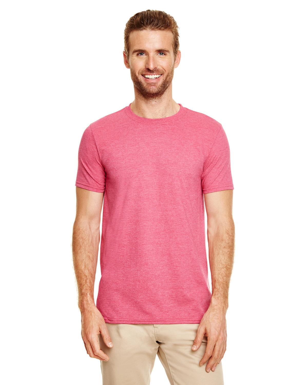 Gildan Adult Softstyle® T-Shirt HEATHER CARDINAL