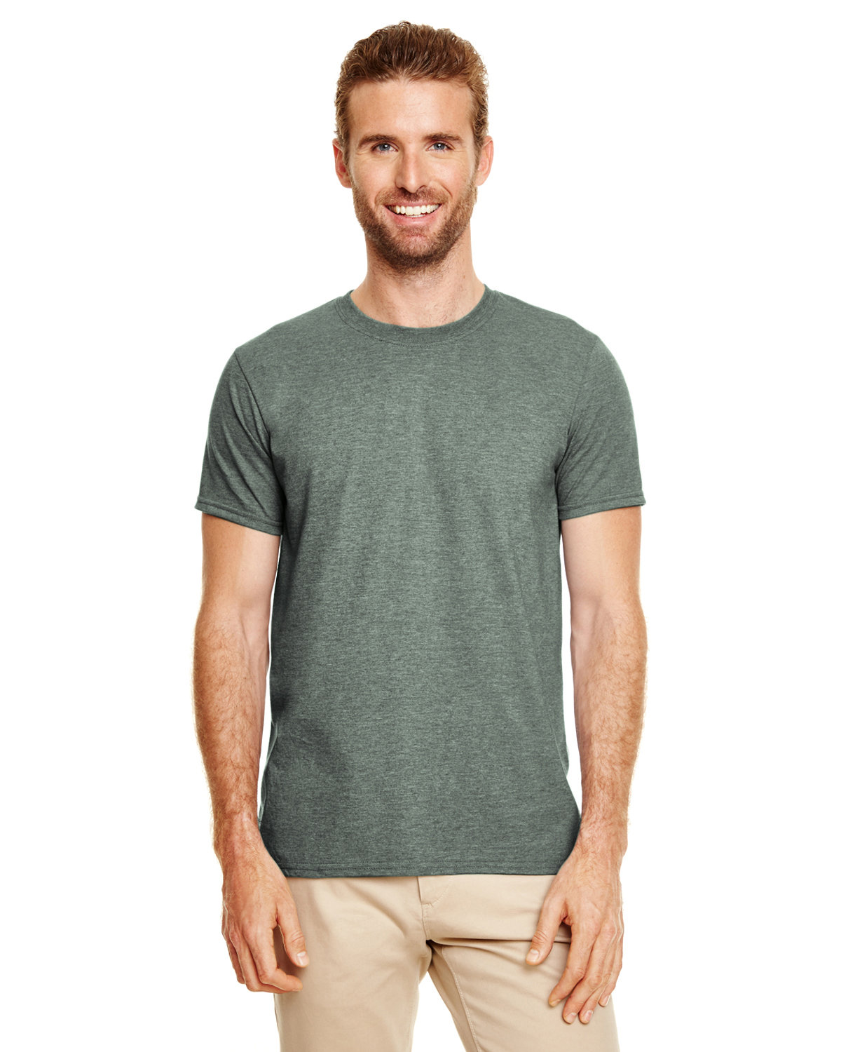 Gildan Adult Softstyle® T-Shirt HTH FOREST GREEN