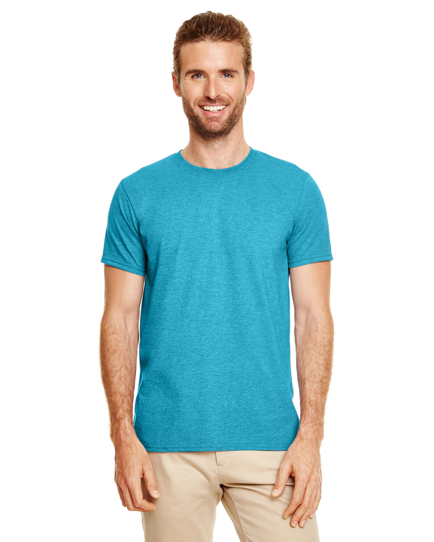 Gildan Adult Softstyle® T-Shirt HTR GALOPGS BLUE