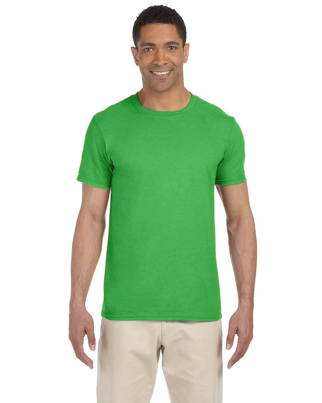 Gildan Adult Softstyle® T-Shirt ELECTRIC GREEN