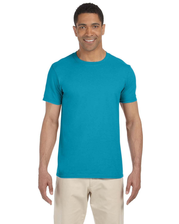 Gildan Adult Softstyle® T-Shirt TROPICAL BLUE