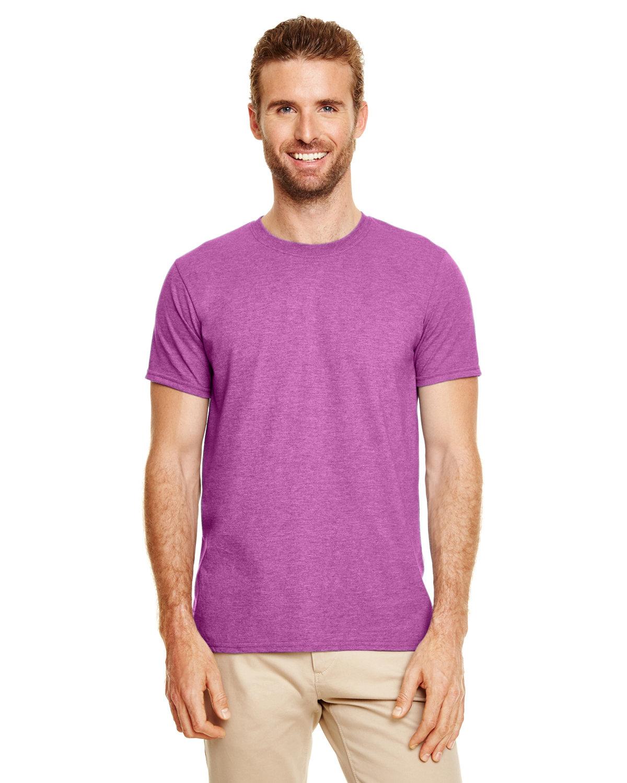 Gildan Adult Softstyle® T-Shirt HTHR RDNT ORCHID
